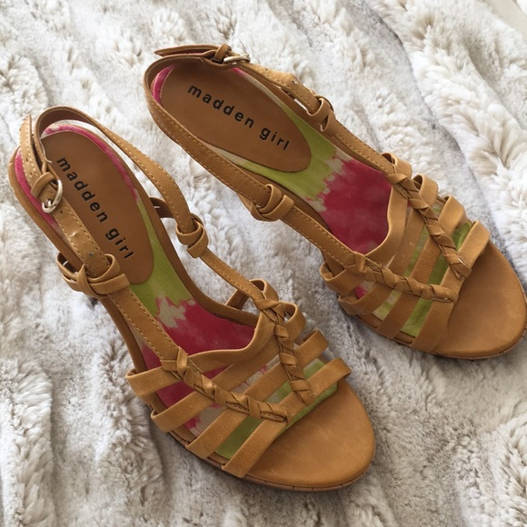 Shoes - Madden girl size 7 heels